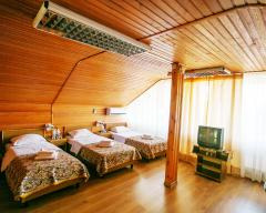 Hotel Russky Dom Divny 43°39° Spa Hotel, Standard economy room (attic)
