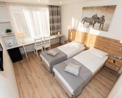 Hotel Dvina, Comfort room with 2 twin beds