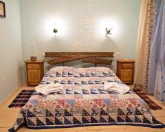 Hotel Bolshaya Medveditsa, Standard double with a family bed in lesovichok cottage (1,6) (breakfast included)