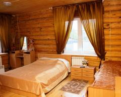 Hotel Zhivye Rodniki, Standard cottage with 1 single and 1 double bed