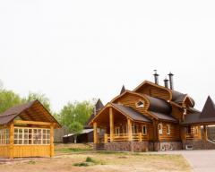 Hotel Zhivye Rodniki, Standard cottage with 4 single and 2 double beds