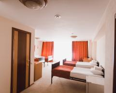 Hotel Amaks Safar Hotel, Economy room with 4 single beds (breakfast included)
