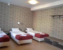 Hotel Karhu, Standard room with 3 single beds (breakfast included)