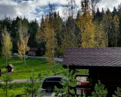 Hotel Lumivaara, Standard cottage with 1 single and 1 double bed